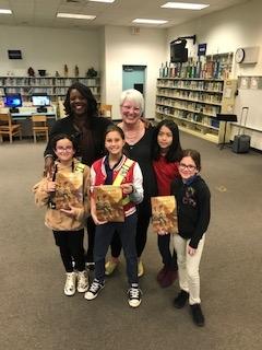 Author visit Ms. Vanderzee