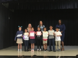 2nd Nine Week's Honor Roll Assembly