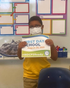 1st day at South Miami Heights Elementary was a success! Our students are ready to enter a new frontier! #MDCPSReady