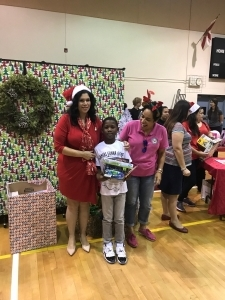 Toy Drive with District 7 School Board Member Ms. Navarro